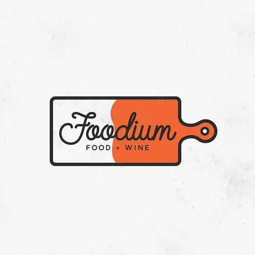 Foodium Logo 2