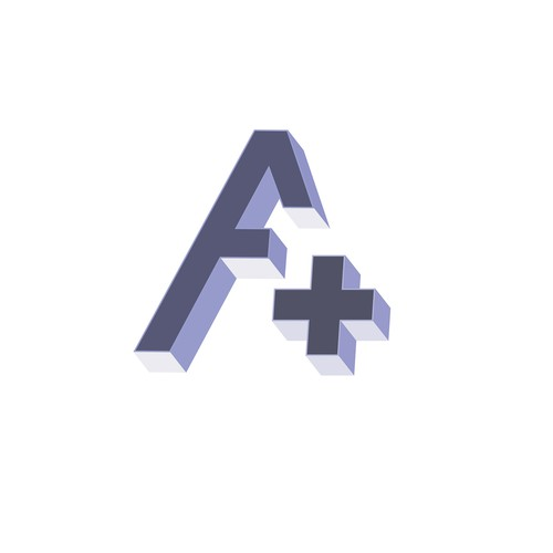 simple 3D logo