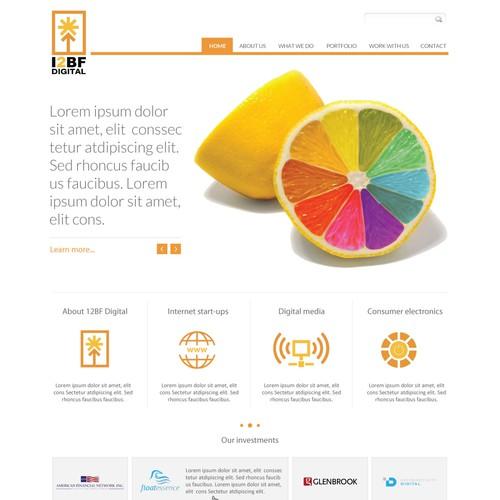 I2BF Digital needs a new website design