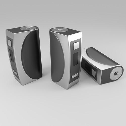 Single-battery vaping device