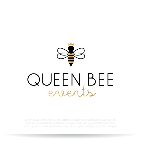Elegant feminine logo for  Event Planning Company