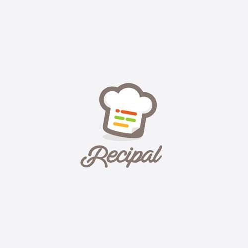 Food Recipe App Icon (Recipal)