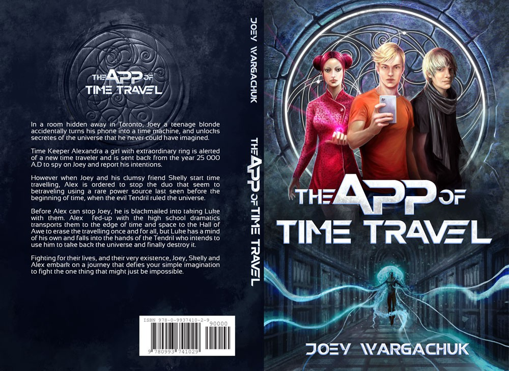 High Fantasy Time Travel Teen Adventure  Book Cover