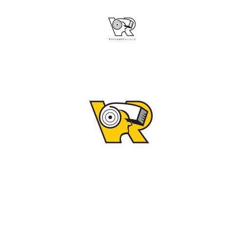 pictorial logo concept for art & design industry.