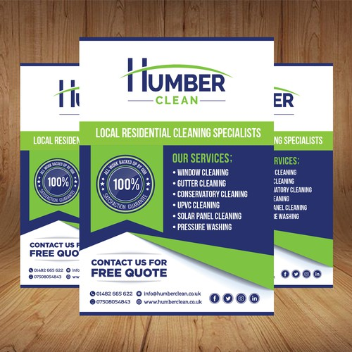 Modern, Simple and Elegant Flyer Design