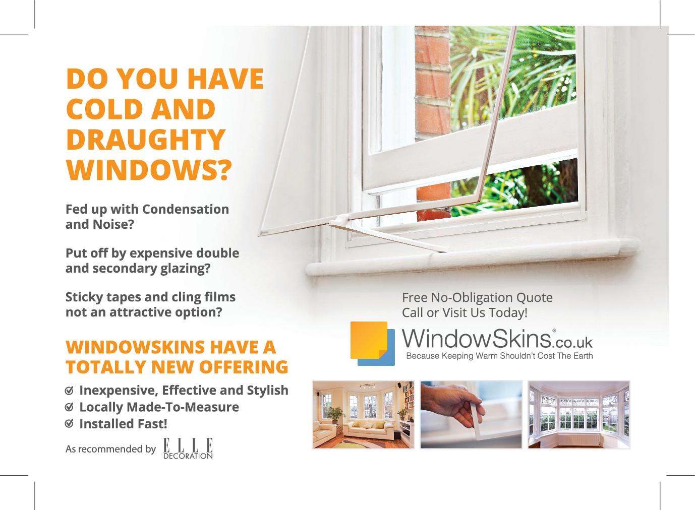 Design a Leaflet For WindowSkins.co.uk