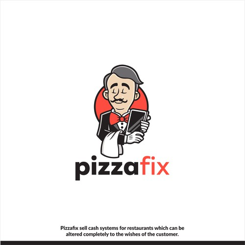 Logo for PizzaFix