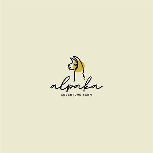 Brand Identity Concept for Alpaka Adventure Farm