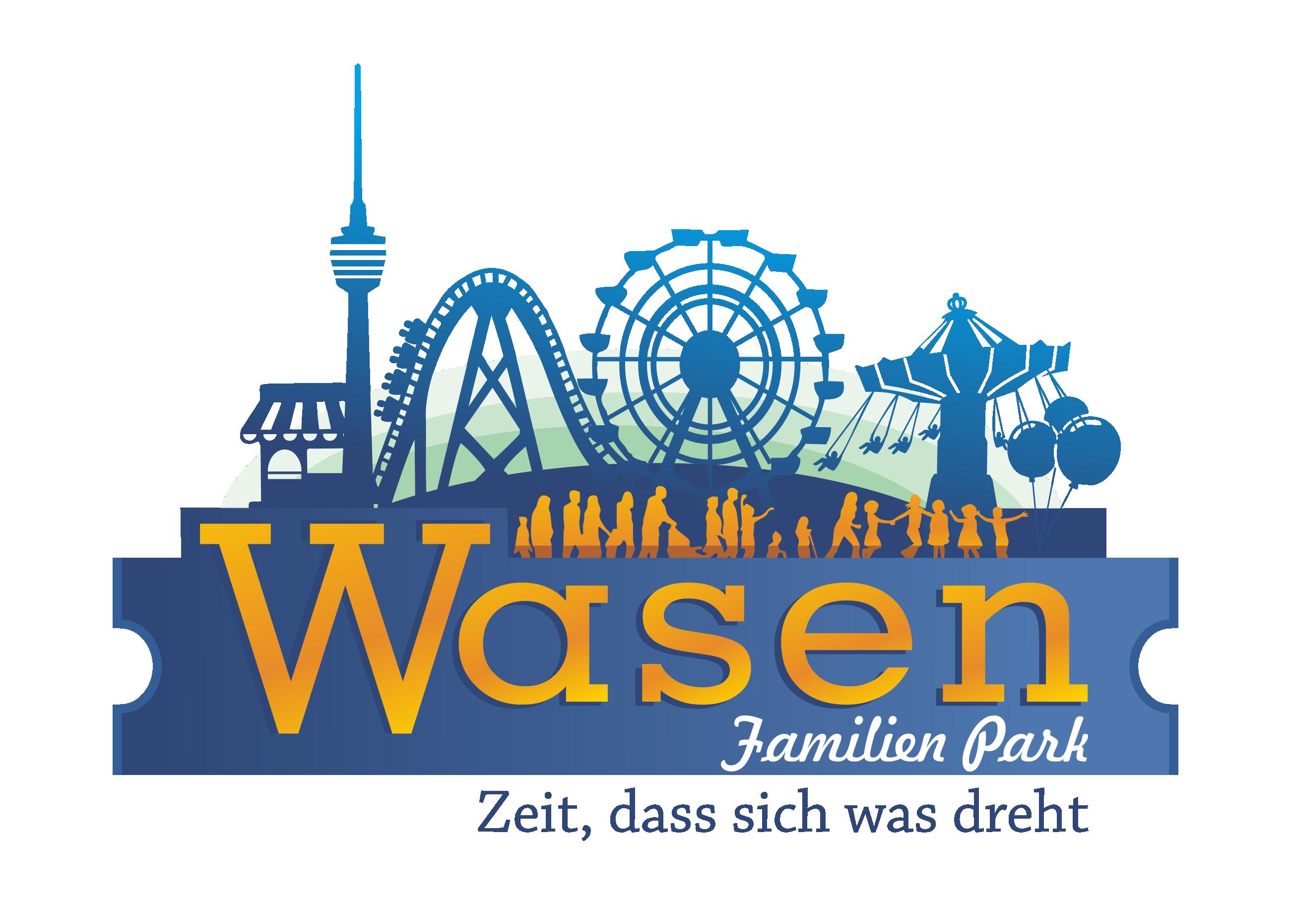 Gestalte ein Layout für einen temporären Freizeitpark in Stuttgart