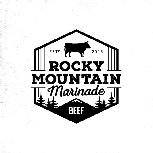 Logo for Rocky Mountain Marinade
