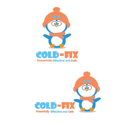 new brand identity with a penguin