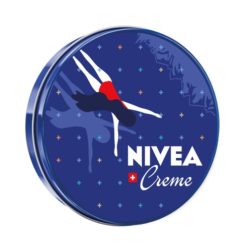 A NIVEA Creme Swiss Anniversary Edition packaging