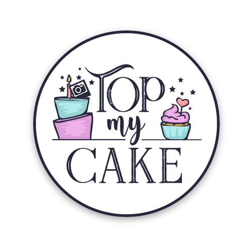 Logo design for a start-up cake topper business