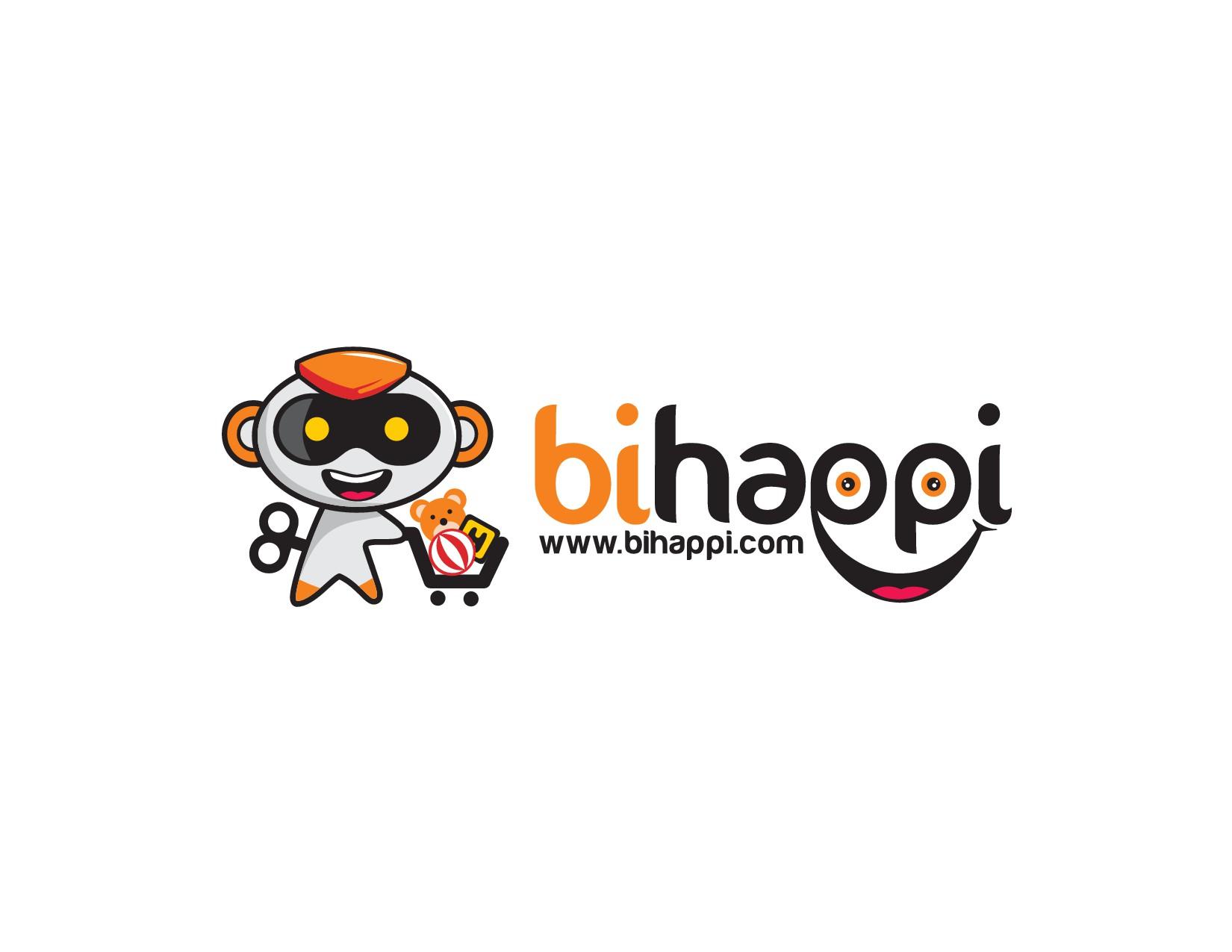 "Create a ""Happy"" powerful logo for Scandinavian webshop www.bihappi.com"
