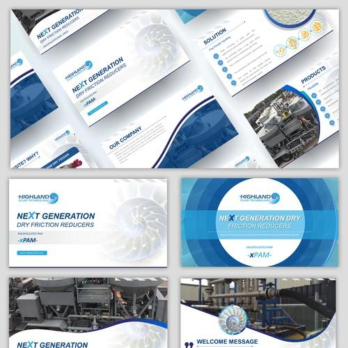 Industrial Presentation Design