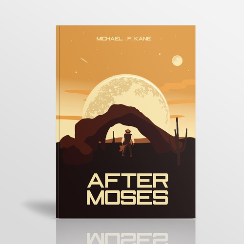 after moses book cover design