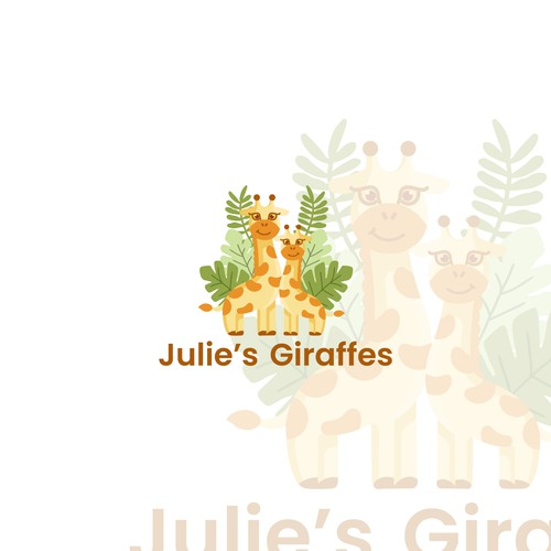 Logo for Julie's Giraffes