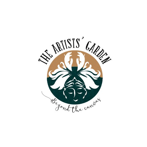 Logo for The Artists' Garden color