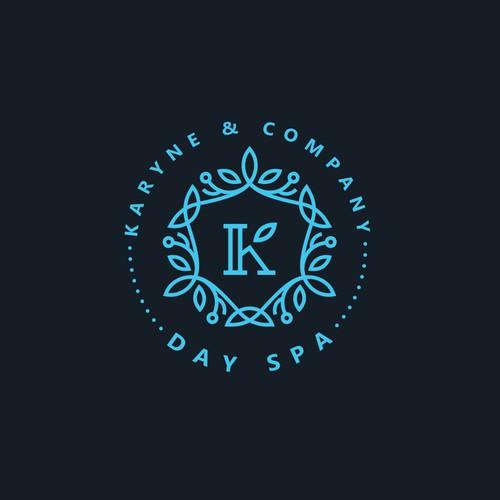 day spa logo concept