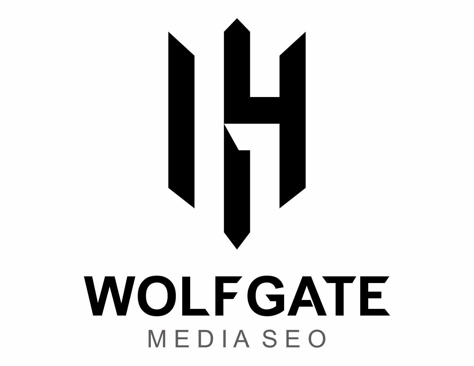 Wolfgate Media SEO needs a clean and cool logo