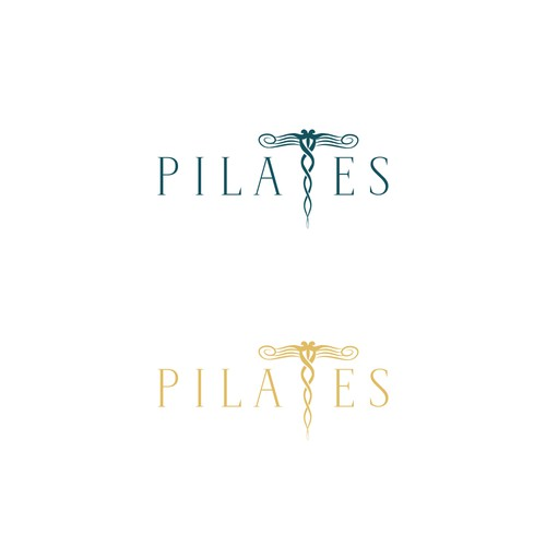 Logo concept for Pilates studio