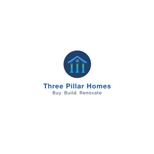 Bold and Unique real estate logo