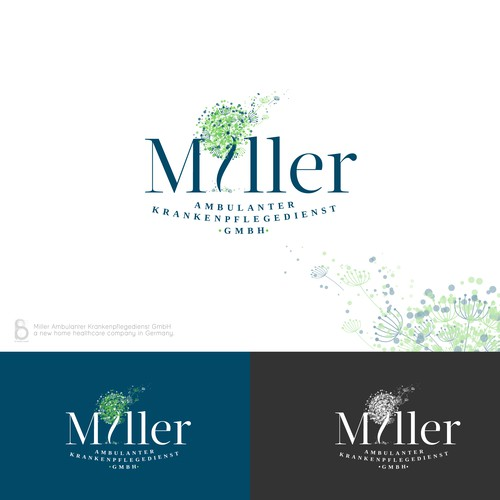 Logo Design for Miller Ambulanter Krankenpflegedienst GmbH