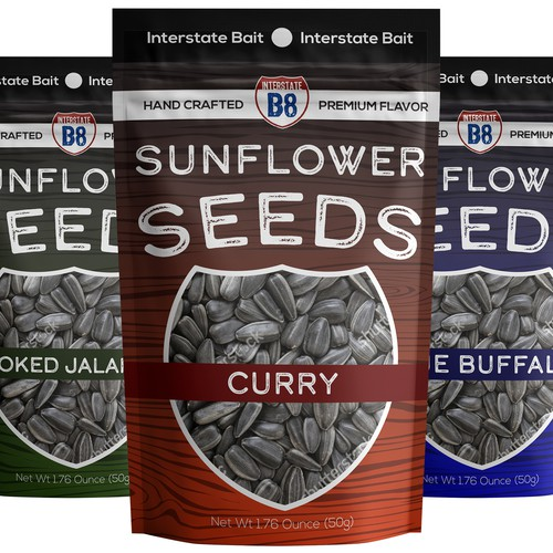 premium sunflower seeds in bags
