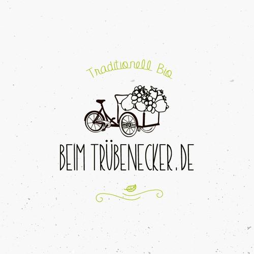 Logo design for fruit delivery service