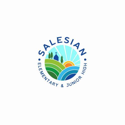 logo for Salesian school