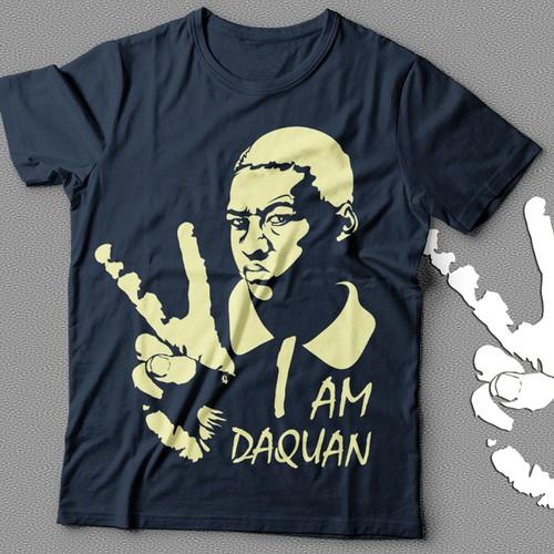 I am Daquan T-shirt Design
