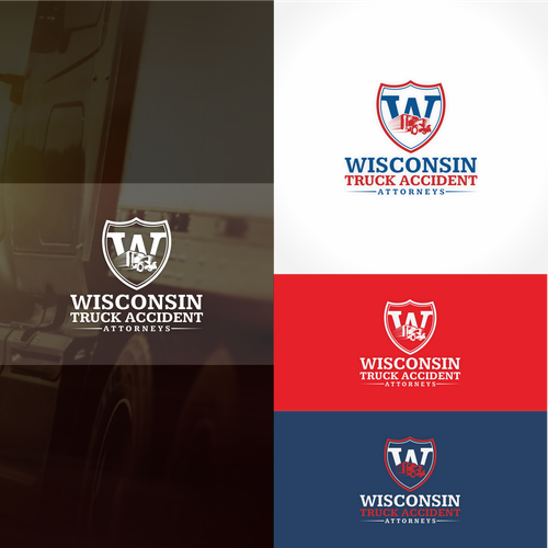 logo concept for Wisconsin Truck Accident Attorneys