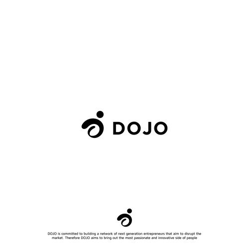 Bold logo concept for DOJO company for social media pack