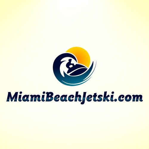 Logo design for a jet-ski company