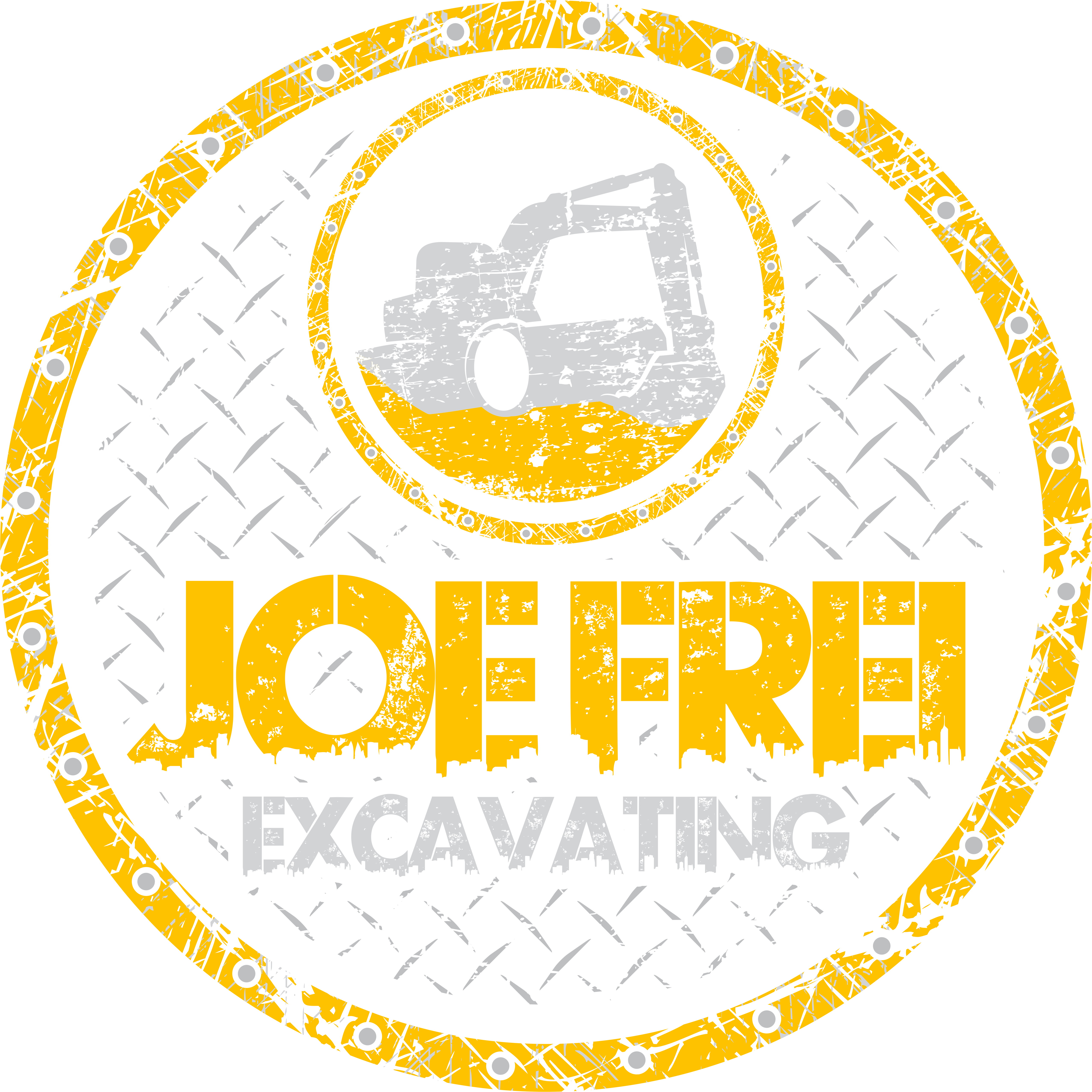 Create a t-shirt design for an excavating company