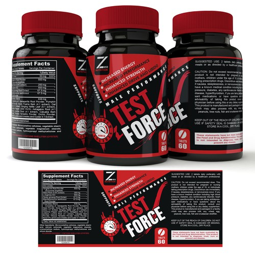 Label for supplement