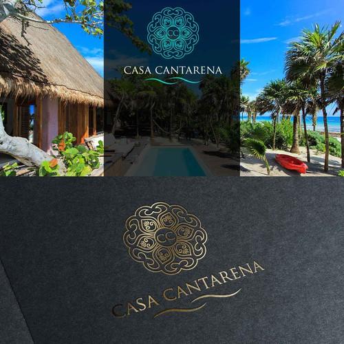 Logo Design for CASA CANTARENA