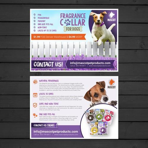 Postcard for Fragrance for Dogs