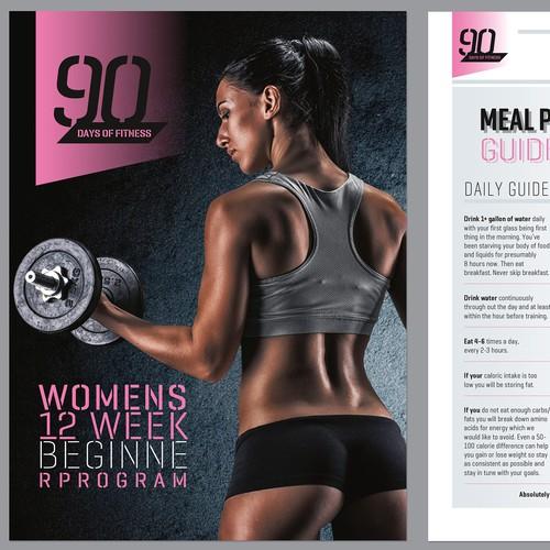 Concept of fitness e-broshure