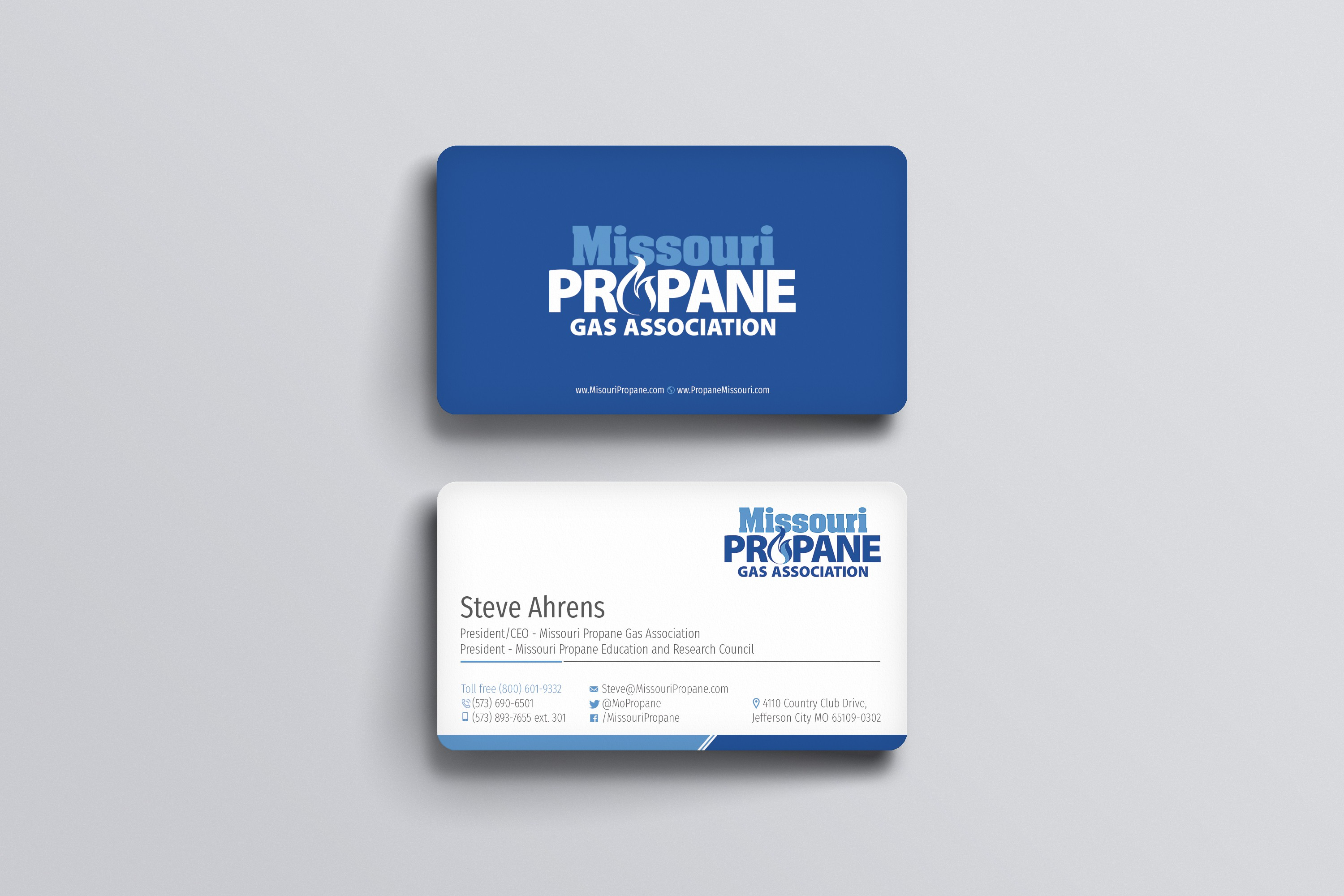 Missouri Propane business card