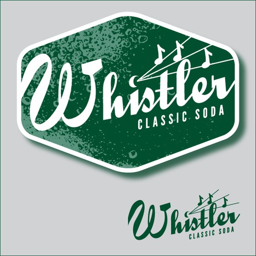 Whistler Classic Soda needs a new logo