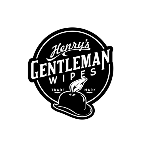 Create an awesome packaging and logo for Henry's Gentleman Wipes