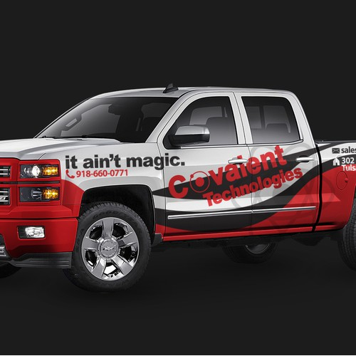 Truck Wrap for Technology Comany
