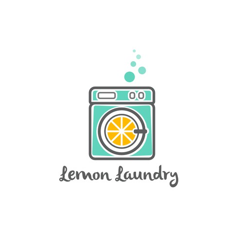 Logo for a Laundry Business