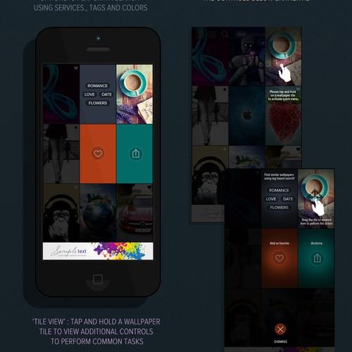 wallpaper app (live)