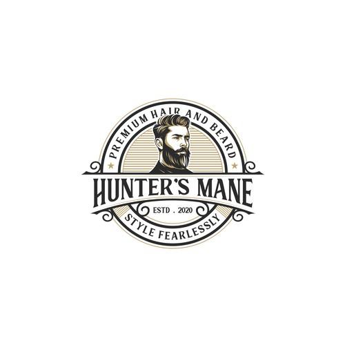 Hunter's Mane Premium hair and beird
