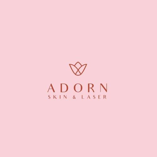 Adorn Logo design