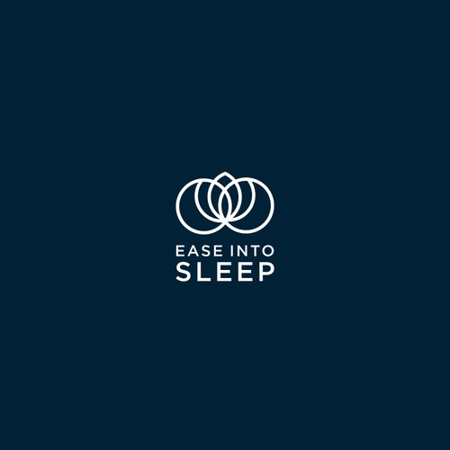 moon and floral logo