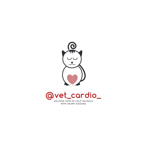 Cute and Cool logo for Vet