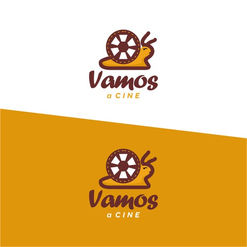 Vamos a Cine Logo Concept